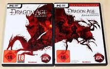 DRAGON AGE ORIGINS & AWAKENING ERWEITERUNG - PC DVD - NEUWERTIG ULTIMATE EDITION