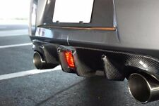New Carbon Fiber Rear Bumper Diffuser Lip Racing Spoiler Cover For Nissan 370z