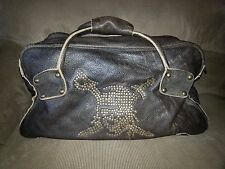 Disney PIRATES OF THE CARIBBEAN-DEAD MAN'S CHEST-Leather Overnight Duffel-Rare
