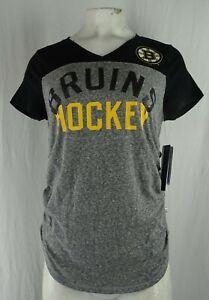 Boston Bruins NHL Touch by Alyssa Milano Maternity Women's T-Shirt