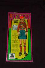 "Vintage Toy Factory Amy Huge 14"" Paper Doll Kit New & Sealed Nos Peel & Stick"