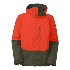 THE North Face Men's NFZ ISOLATO GORE-TEX Giacca Da Sci Snowboard ARANCIONE VERDE M