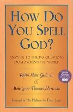 How Do You Spell God?, Marc Gellman, Thomas Hartman, Book HBO Winner