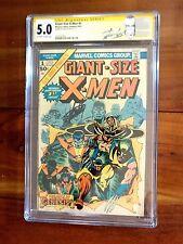 Giant-Size X-Men #1 1975 CGC SS Signed Stan Lee Label 5.0 1st new X-men Storm++