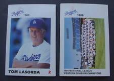 1986 Los Angeles Dodgers Police complete 30 card set !