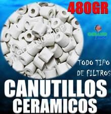 CANUTILLOS 480GR CERAMICOS CERAMICA ACUARIO TODO tipo FILTROS ESPECIAL BACTERIAS