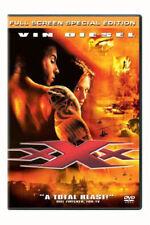 Xxx (Dvd, 2002, Full Screen Special Edition) Vin Diesel Samuel L X Jackson Movie