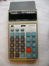 Calculator CITIZEN 831RD rechargable cassette   .. D7
