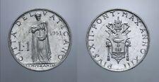 1 LIRA 1951 PIO XII VATICANO VATIKAN 2