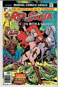 RED SONJA #1 1977 EXCELLENT SHAPE