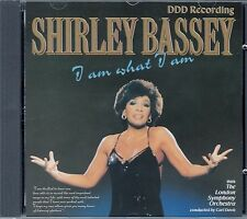 SHIRLEY BASSEY : I AM WHAT I AM / CD - TOP-ZUSTAND