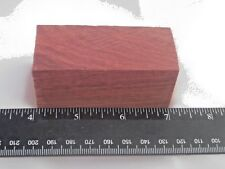 Brazilian Bloodwood Bottle Stopper Blank