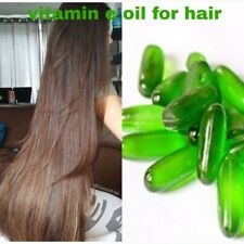 30 pcs E vitamin Capsules 400 mg for Hair growth Faster and Silky Smooth Hair
