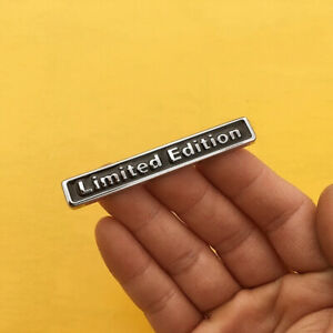 Metal Limited Edition Auto Car Sticker Badge Motorcycle Decal Stickers Emblem x1