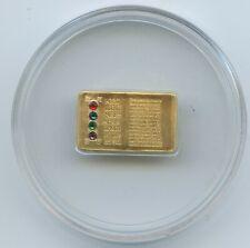 GS607d - Cook Islands 25 Dollars 2006 Gold Goldene Bibel SEHR RAR