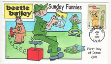 SSS: Collins HP FDC  2010  44c  Sunday Funnies  Beetle Bailey      Sc# 4467