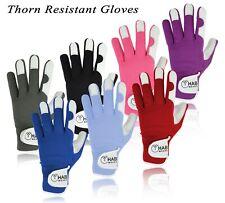 Mens Leather Gardening Gloves Mechanic Builder Thorn Proof Garden work gloves