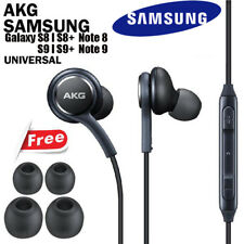 NEW OEM Samsung S9 S8+ Note 8 9 AKG Earphones Headphones Headset Ear Buds Black