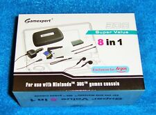 Nintendo 3DS Gamexpert Super Value 8 in 1 Accessory Pack