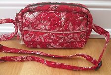 Stephanie Dawn Quilted Purse in Burnt Ruby~Made in USA~Excellent Condition!