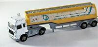 Corgi BP Petrol Tanker Transporter Truck Diecast Model Car Yellow /  White C12