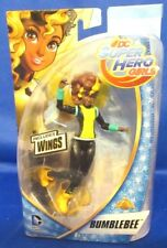 DC UNIVERSE SUPER  HERO GIRLS BUMBLEBEE W/WINGS COLLECTOR FIGURE, NEW