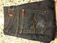 7 for all mankind women Jeans X-LONG BOOTCUT- SZ 28