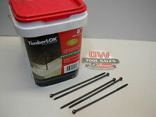 TimberLok Heavy Duty Wood Screws 8″ Inches (250) Lag Bolt