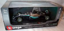 Burago Mercedes F1 WO7 Hybrid Lewis Hamilton 1.18 Scale New unopened Box