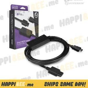 HYPERKIN 3-In-1 HDTV Cable🍯Nintendo N64 Super NES GameCube SNES 720p Display TV