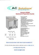 Interlevin Epi900 2 Door Gastronorm Preparation Counter Fridge
