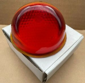 101278 NEW Indian Tail Light Glass Round Chief 1946-Up Vintage Motorcycle (39)