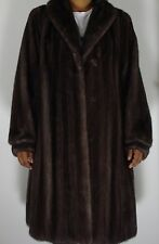 Maximilian Bloomingdale's Blue Iris Mink Fur Coat Size 6-8 PEREFCT CONDITION