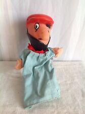 Marionnette ancienne vintage Pirate Tête en plastique dur Personnage télé BD?