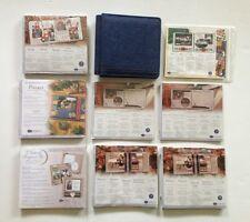 Creative Memories Lot 7 x 7 Denim Album & Paper Natural Ruled Spargo Pizzazz