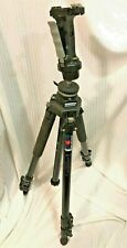 Manfrotto 055GSB/HJ24 Professional Tripod With Manfrotto #222 Head