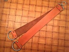 "18"" Straight Razor Sharpening Tool Real Cowhide Leather Strop - Home- Barbers-P2"