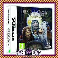 Where The Wild Things are The Videogame (Nintendo NDS DS lite Dsi XL) Brand New