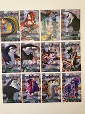 "SHARKSLAYER DREAMWORKS ANIMATED MOVIE Promo Card Set (12) 3.5"" X 2.25"" (2004)"