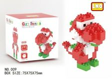 Lno Game Super Mario Red Yoshi Monster Diy Diamond Mini Nano Block Building Toy
