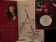 El James Durnan Fifty Shades Grey signed signiert autograph Signatur Autogramm
