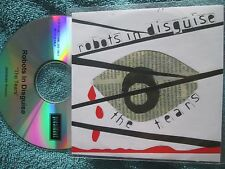 Robots In Disguise ‎– The Tears  President Records RIDS04X Promo UK CD Single
