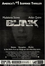 NEWSPAPER CLIPPING/ADVERT 14/5/94PGN42 MADELEINE STOW IN BLINK MOVIE 10X7""