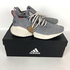 Adidas Alphabounce Instinct Running Shoes Men's Size 8.5 Gray B76038