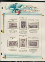 united states commemoratives 1935/36 stamps page ref 18267