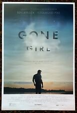 GONE GIRL Movie Poster 27x40 2-Sided Authentic Ben Affleck