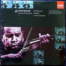 LD David OISTRAKH: TCHAIKOVSKY SIBELIUS Rozhdestvensky Violin Concerto LaserDisc