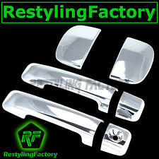 07-14 TOYOTA TUNDRA Chrome 4 with D shape Door Handle no Passenger Keyhole Cover