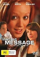 Instant Message (DVD)**Like New*Patrick Adams, Lindy Booth, Marla Sokoloff - R4