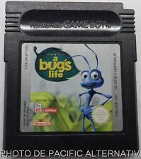 Cartouche de jeu 1001 PATTES a bug's life nintendo game boy color disney pixar